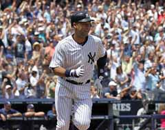 Derek Jeter 3000 Hits 2011 Yankees