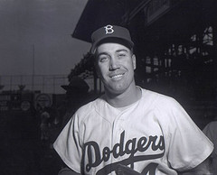 Duke Snider de los Brooklyn Dodgers