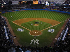 Old Yankee Stadium Bronx New York